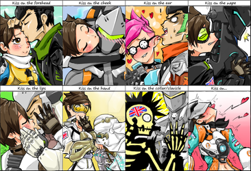 Tracer x Genji Kiss Meme by ChipTooth