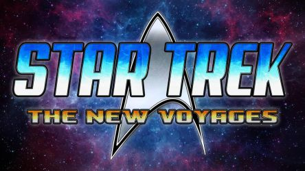 Logo for Star Trek - The New Voyges by ZenithComics