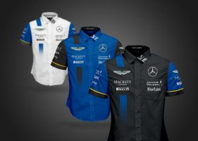 2016 Aston Martin Mercedes F1 Shirts Crew by andwerndesign