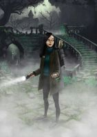 Ghost Hunters - Sam by JNathanIllustration