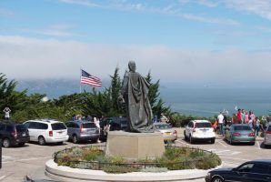 Coit Tower Columbus Monument by Colonel-Knight-Rider
