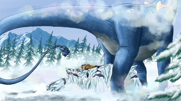 Tundra Colossus by Weirda-s-M-art