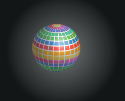 Mosaic disco ball by ProgerXP