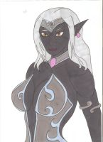Dungeons and Dragons - Queen Ashnahaar by Tyrannuss555