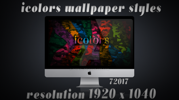 iColors Matrice Wallpaper by sete34
