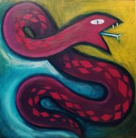 Snake Paint by scilk