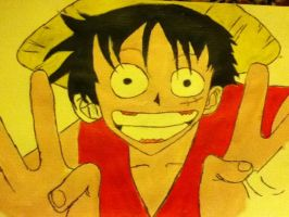 Monkey D Luffy by arranboi123
