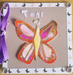 Red butterfly birthday card. by MadameButterfly94