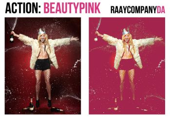 Action9: Beauty Pink by raayCompany
