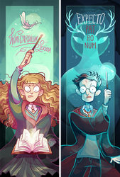 HP: Spells by InsaneNudl