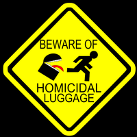 Beware of The Luggage by DavidGustafik