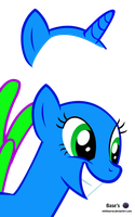 MLP Vector Base - smile /Free2Use by MLPBlueRay