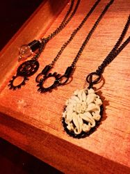 Necklaces galore! by xXXxNightShadexXXx