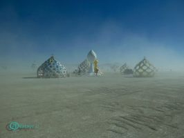 Burning Man 2012 - Vision II by katu01