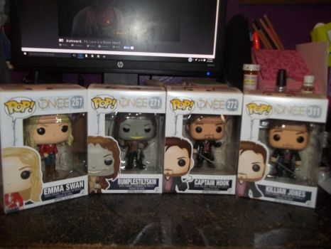 Funko Pop Once Upon a Time by ClarkandLanaKent