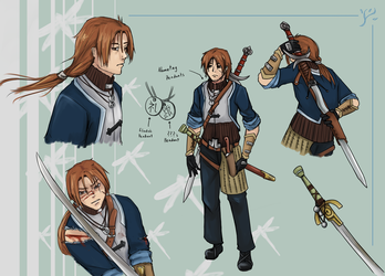 Eliado Character Sheet by SixPackCharisma