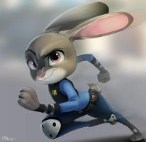 Judy Hopps by Blackblader