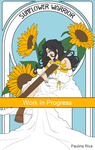 WIP - The Sunflowers warrior by RikaChan3