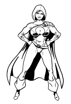Power Girl by tomcrielly