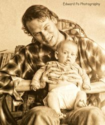 Edward and Baby Thatcher #3 by FrodoPrime