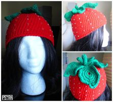 Strawberry Hat by Petra0