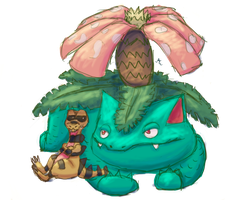 Venusaur And Krokorok