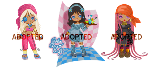 Minimie-adoptable-set [CLOSED] by ma-petite-poupee