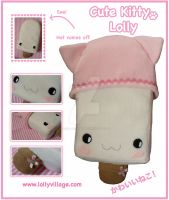 Cute Kitty the Plushie Lolly by fuzzy-jellybeans