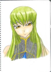 Code Geass: C.C by udiszabi