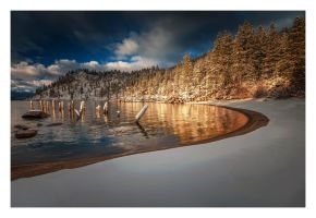 Winter's Cove by EtherealSceneries
