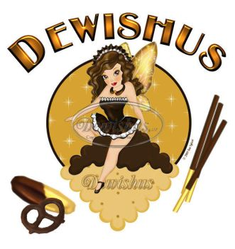 Chocolate Dipped Cookies Fairy by Dewishus