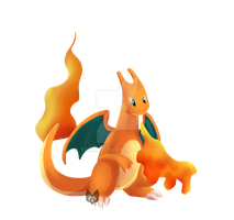 Pokemon: Charizard by Takarti