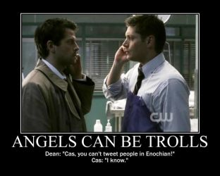 When Cas Discovers Twitter by BecomingaWallflower