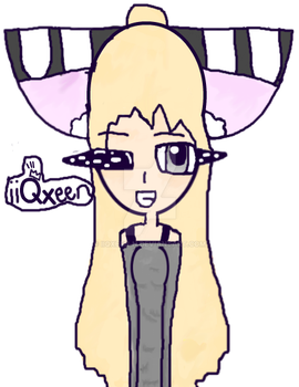 New Design For My Main OC by iiQxeen-n