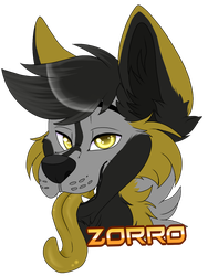 Badge zorro by xRubyCayx