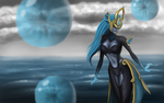 Atlantean Syndra by StendorfDesign