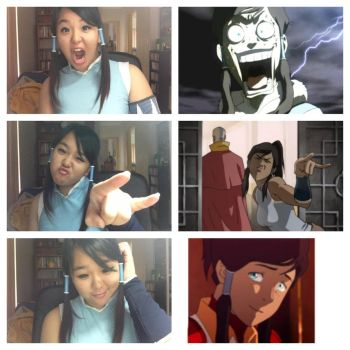 Korra Collage - 4 by JustAnAsianGirl