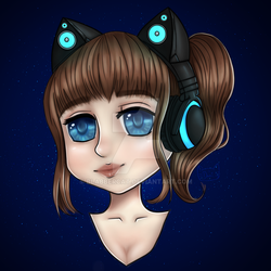 My New Avatar Picture for Twitch And YouTube by Blabbercat