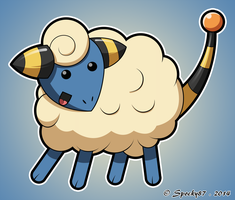 Mareep Colored by Spocky87
