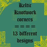 Keltic corners by rL-Brushes