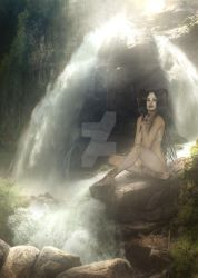 Waterfalltoken by DJMadameNoir