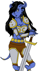 Draenei Warrior Color - WIP by aviary