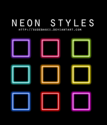 Styles (Neon) 1 by SudeBagci