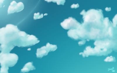 Clouds by zabby91