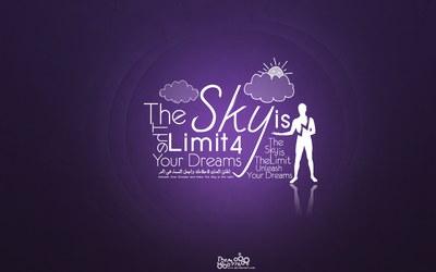 The Sky is The Limit 4 Your Dreams by TheMythxXx
