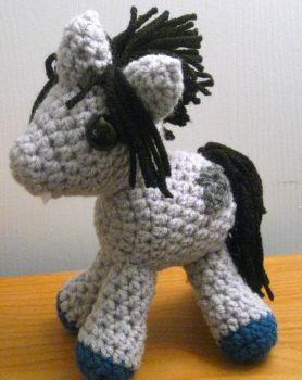 My Little Pony Plush - OC - Prince Morpheus by kaerfel