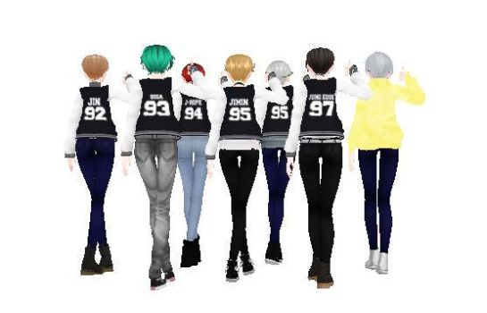 . : Bangtan Boys : . by Alex-MMD-Studios