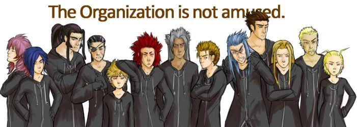 The Organization is not amused by wegs