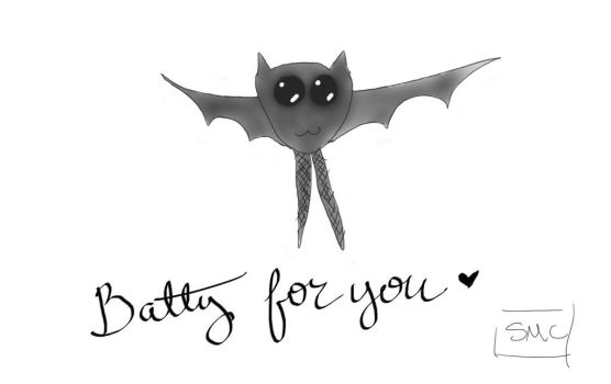 Batty for you by SMCkat