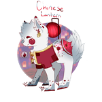 Chinese Lantern Plant Sprite Adopt CLOSED by Coiid